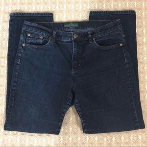 Lauren Ralph Lauren Classic Straight JeansSz 12